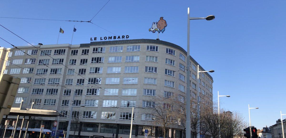 Building Enseigne Tintin