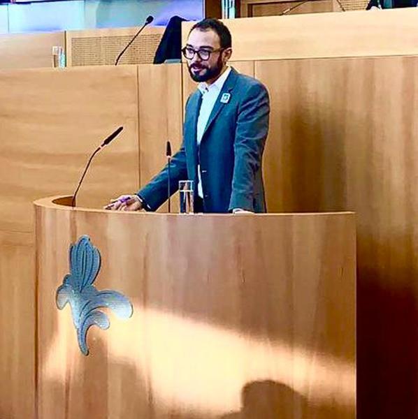 Député au Parlement Bruxellois